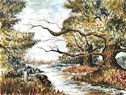 River Trees. Anja Meyer