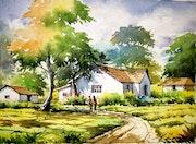 Rural landscapes. A Raja