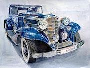 Vintage Cadillac.