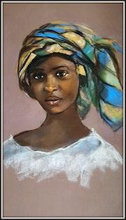 Jeune Africaine. Joelle Bouriel
