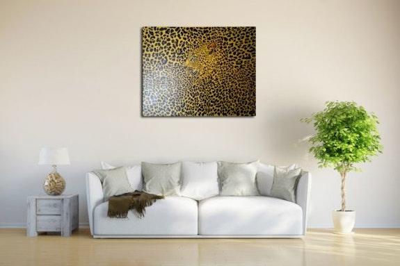 Versteckter Leopard. Wolfgang Bröder Wolfgang Bröder