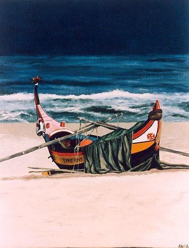 La barque.  Monde De Nine