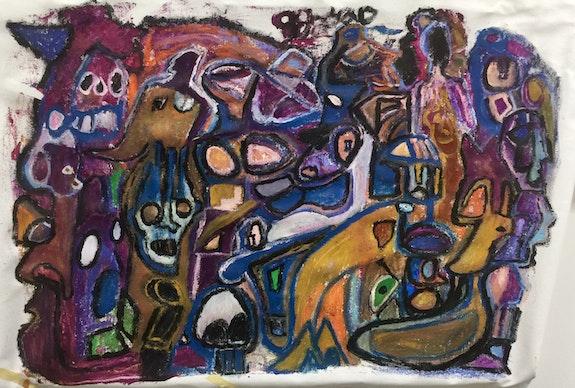Kings of nether World. Jonathan Jaeger Radiant Art