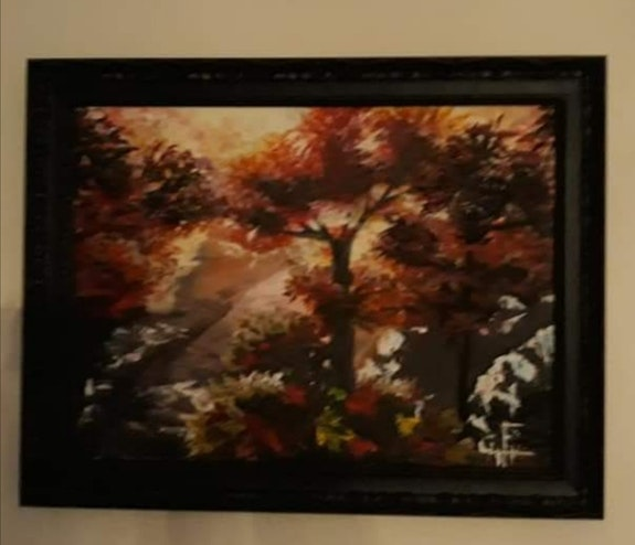Forest in autumn. Celinesxmart Fernandes Céline
