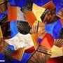 Whirlwind, fragments colorés. Microzede