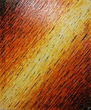 Peinture relief : Texture couteau blanc orange..