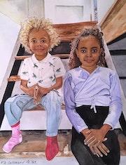 Petits-enfants Québécois. Françoise-Elisabeth Lallemand