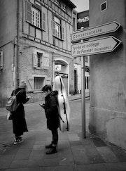 Scènes de rue.
