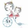 Bicyclette bleue (青い自転車). Kiyoko