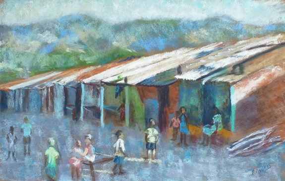 Le village perdu. Nathalie Mailhes Nathalie Mailhes