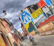 Scènes de rue Toulouse, ma ville. Marylou