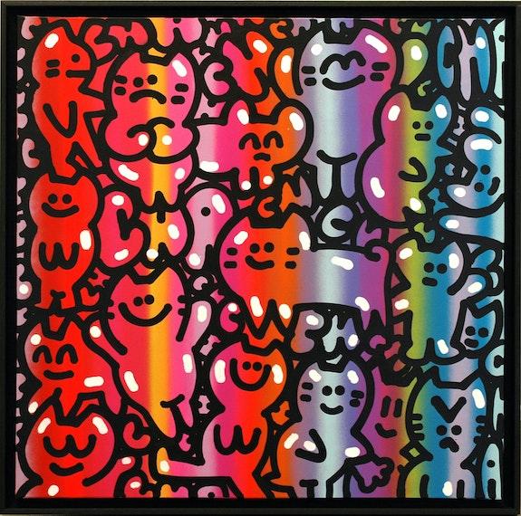 Cats With Attitude. Chanoir Galerie Art Jingle