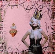 Queen of Hearts marilyn monroe. Lorette C Luzajic