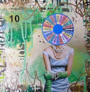 Wheel of fortune. Lorette C Luzajic