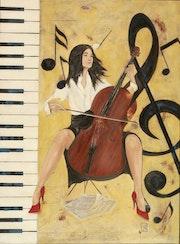 Notes violoncelle. Jean-Luc Gaillard
