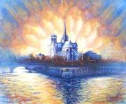 Lumière sur Notre Dame de Paris -.