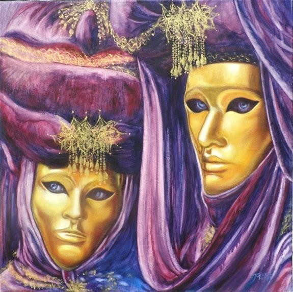 Masques d'Or. Carmen Juarez Medina