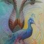L'oiseau fantastique. Carmen Juarez Medina