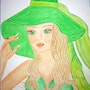 Lady In Green.. The Princess