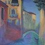 Sehnsucht nach Venedig - Hommage an Monet.