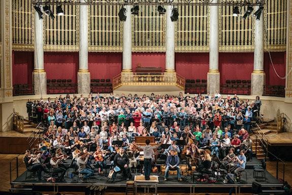 Bühnenchor Ferlesch, großer Saal, Konzerthaus wien. Wiener Konzerthausgesellschaft Jan Condor