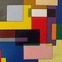 Tableau geometrique. Georges Wagner