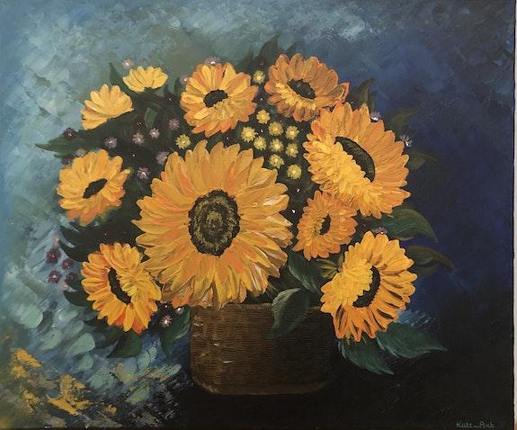 Bouquet of Sunflower. Kasia, Kate_Art Kate_Art