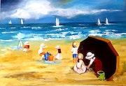 Jeux de plage.