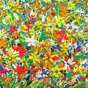 Fleurs de Provence France. Art Natalia Kuruch