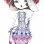 Art Nouveau Fashion (アールヌーボー・ファッション). Kiyoko