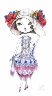 Art Nouveau Fashion (アールヌーボー・ファッション).