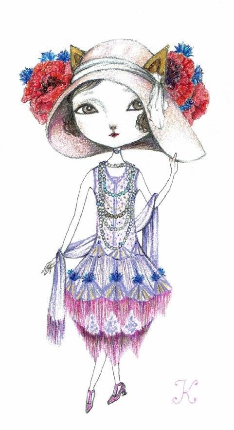 Art Nouveau Fashion (アールヌーボー・ファッション). Kiyoko Kiyoko