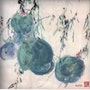 Au 10 - Fruits - Original Abstract Chinese Ink Painting On The Rice Paper. Zhongwu 仲吾