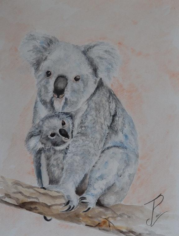 Maman Koala et son petit. Jean-Pierre Lemoine Jean-Pierre Lemoine