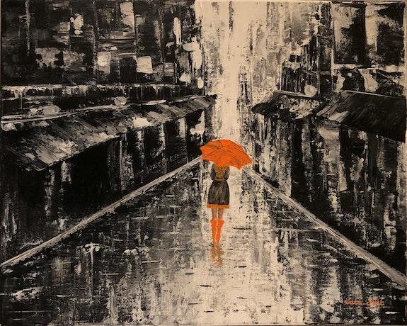 Sous la pluie. Kasia, Kate_Art Kate_Art