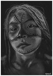 Munduruku girl.