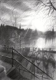 De Hofvijver – 20-03-20. Corné Akkers Kunstwerken