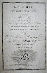 Galerie du Palais Royal (collection de peintures du Duc d'Orléans). Historien d'art, Archéologue; Chercheur Free-L.