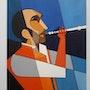 Le musicien à la flûte…. Nanie