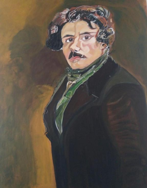 Eugène Delacroix. Balarh Ilham Ilham Balarh