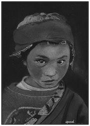 Enfant du Népal. Wpascal