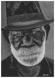 Aborigène d'Australie.
