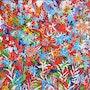 Fleures rouges. Art Natalia Kuruch