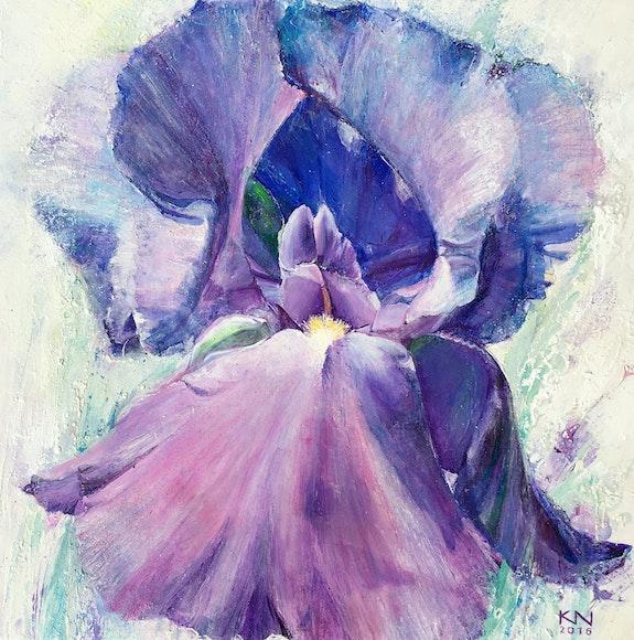 Iris. Natalia Kuruch Art Natalia Kuruch