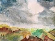 Pensées sous les nuages. Marie-Claude Lambert