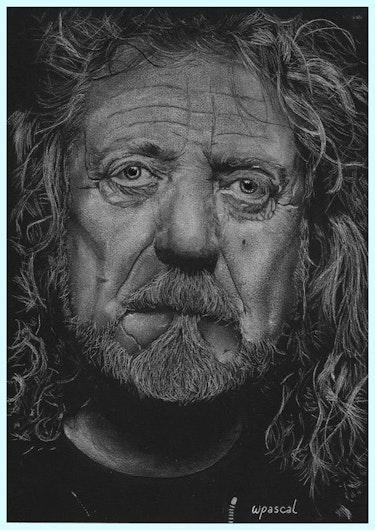 Robert Plant. Wpascal