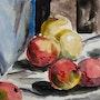 Nature morte aux pommes. Eric Bertrand