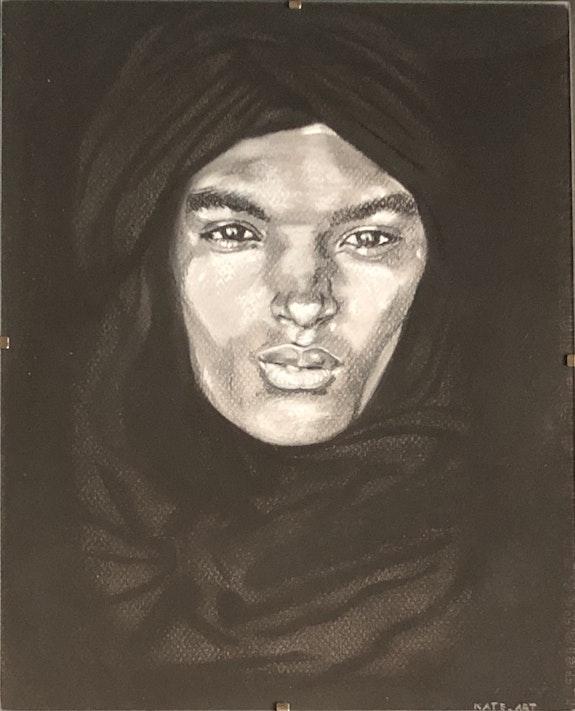 Portrait d'un Touareg. Kasia, Kate_Art Kate_Art