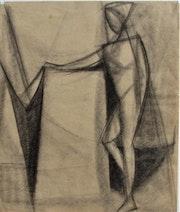 Anonyme : Recherche cubiste. Filets et nasse de pêcheur ?. Historien d'art, Archéologue; Chercheur Free-L.