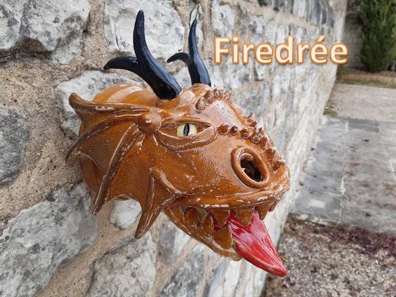 Firedrée a la couleur du feu.. Charles Leblanc Les Gargouilles De Cl